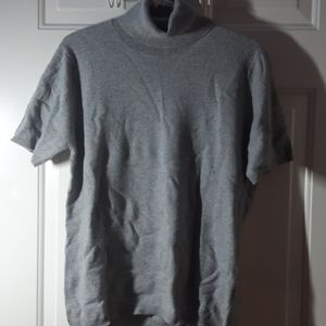 Bellina - Grey Wool and Cashmere Sweater XXL
